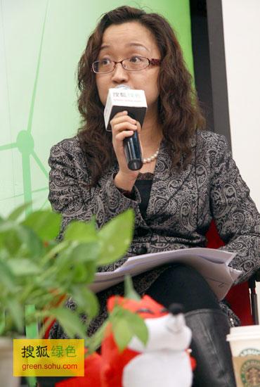 李 玲 沃尔玛中国公共关系高级总监(搜狐绿色荣蓉/摄)
