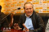 图片:[中超]长沙0-0天津 阿里汉出席发布会