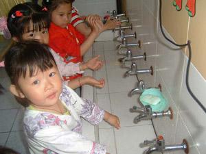 手足口病 洗手遵5法