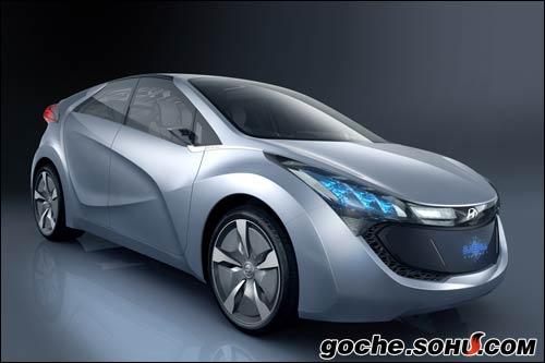 现代插电式混合动力概念车Blue-Will HND-4