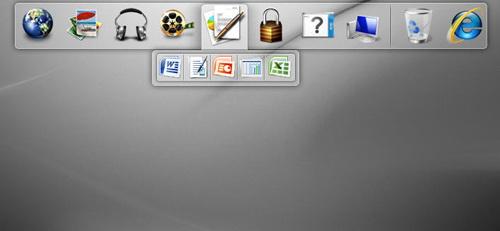 dell dock软件很像是苹果电脑的操作界面图片