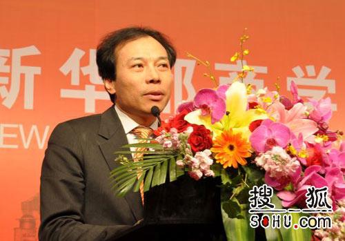 新华都总裁兼CEO唐骏(图片来源:搜狐财经)