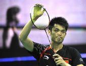 图文:羽球亚锦赛正赛次日战况 林丹向观众致意