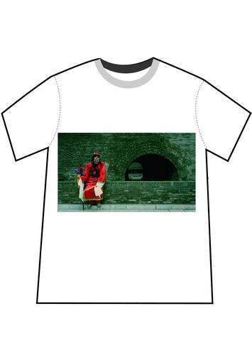胡歌设计T恤原稿