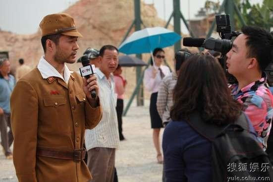 《中国远征军》发布会谭凯接受采访