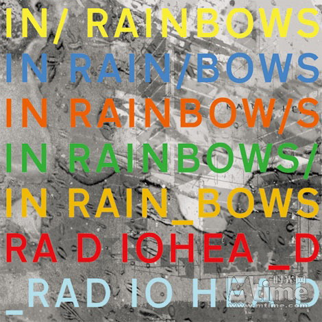 《In Rainbows》CD封面
