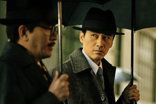 图:谍战大片《东风雨》精彩剧照-1