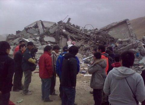 4月17日震毁的孤儿院