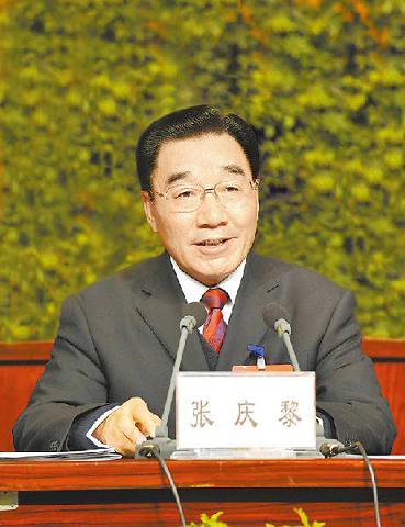自治区党委书记张庆黎作重要讲话.西藏日报记者 旦增 摄