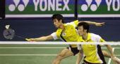 图文:羽毛球亚锦赛决赛赛况 韩国组合配合默契