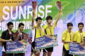 图文:羽毛球亚锦赛决赛赛况 韩组合男双夺冠