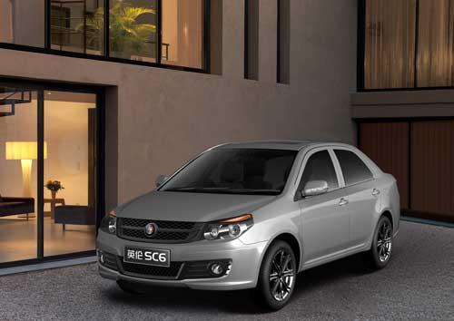 吉利北京车展子品牌--上海英伦 SC6