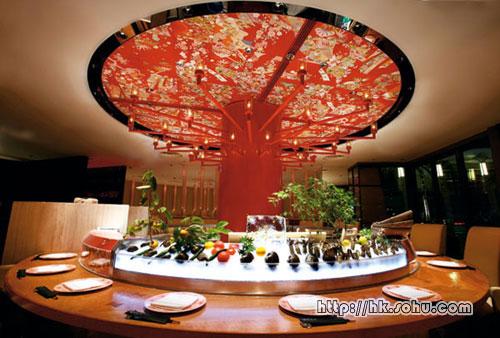 MEGU餐厅融合日式传统和现代气息