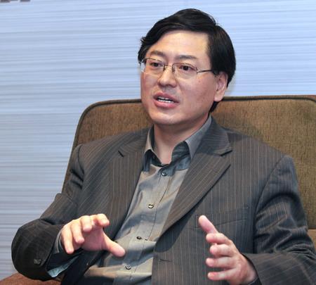 杨元庆认为移动互联网是联想的明天(图片来源:搜狐IT)