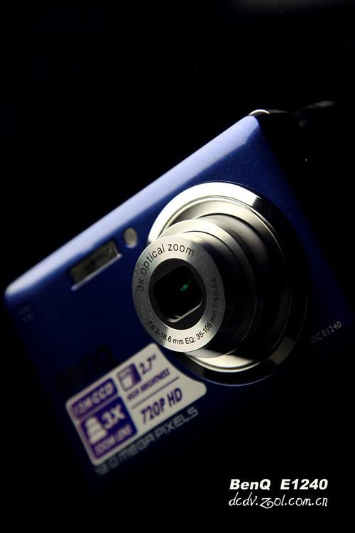 1200万像素720p高清摄像 明基E1240评测