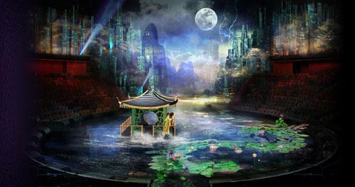 """""""水舞间""""的制作故事图稿─ 一个震撼人心、超越时间及空间的史诗式爱情故事"""