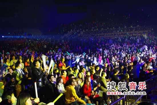 陈奕迅演唱会几乎常常爆满