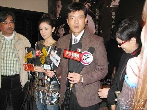 廖凡接受媒体采访