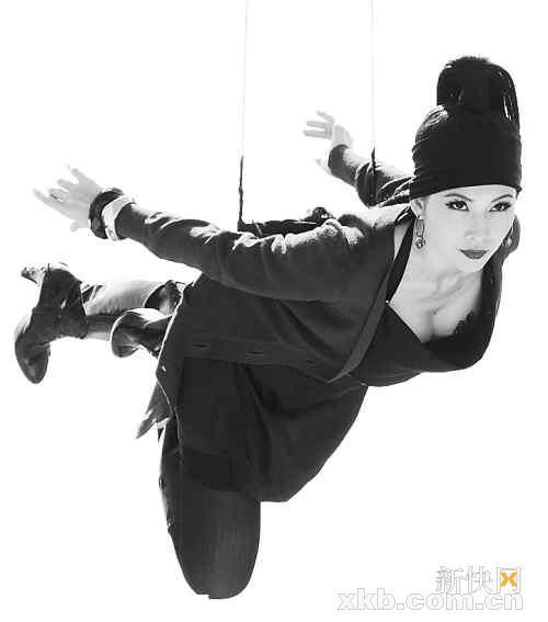 蔡少芬出演《飞女正传》