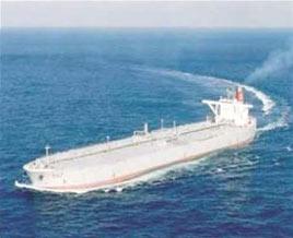 波斯湾地区常见的油轮。