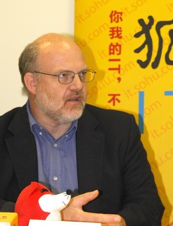 联想集团Think产品集团高级副总裁Peter D.Hortensius
