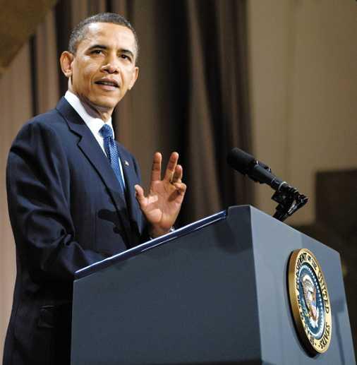 国际要闻 时事快报    美国总统贝拉克·奥巴马22日在纽约发表演讲图片