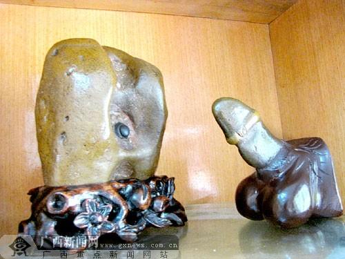 阴阳奇石将亮相性文化节 纯天然未人为雕琢(图