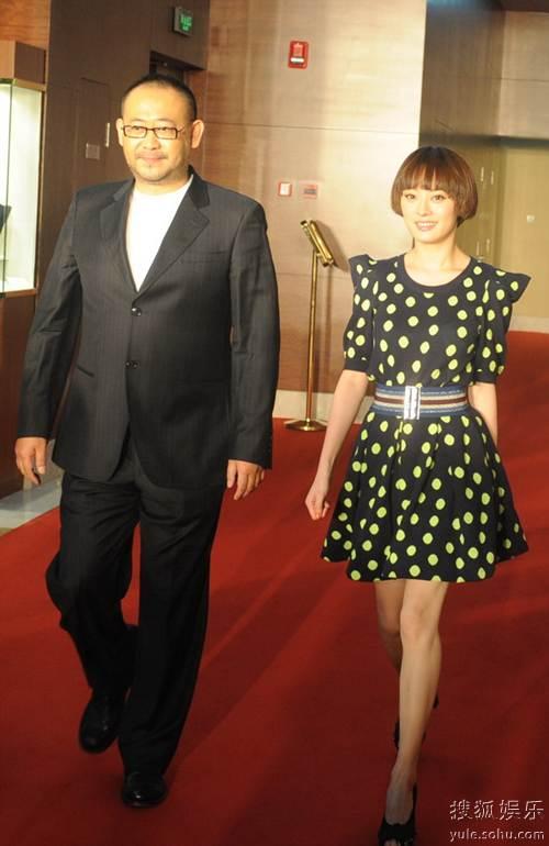 图:2010春季电视剧盛典红毯 姜武、孙俪