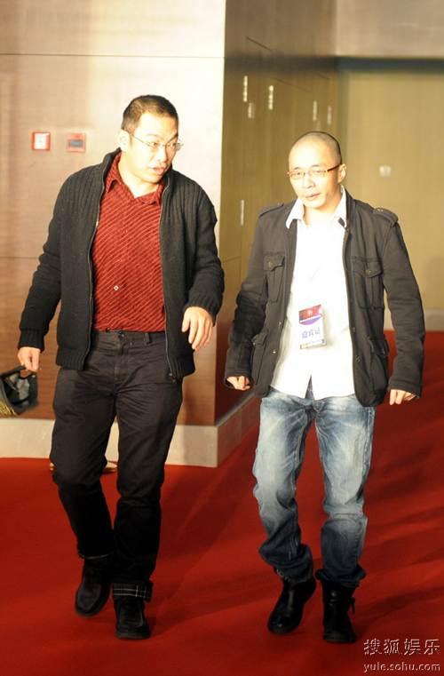 图:2010春季电视剧盛典红毯  宁财神兰晓龙