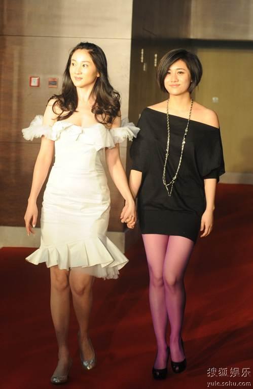 图:2010春季电视剧盛典红毯 许环幻、刘芸