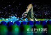 图文:全国游泳冠军赛第五日 选手挥臂前游