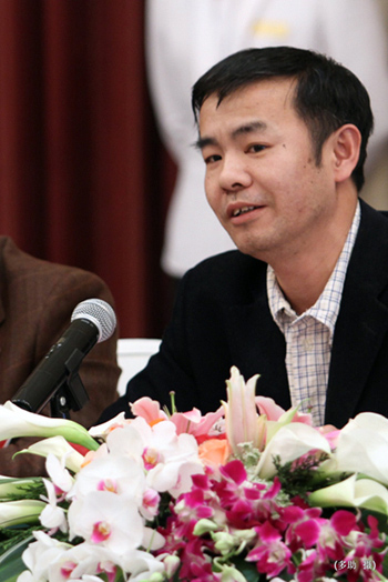 """搜狐网副总编辑国庆临现场发言 温暖十年""""让爱传递"""""""