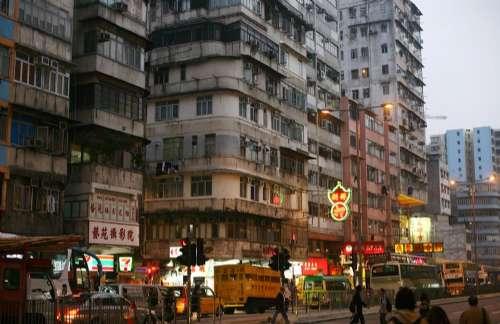 香港4000旧楼已巡查完成 两幢危楼紧急修复(图)