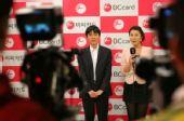 图文:BC卡杯决赛第三局 李世石赛后接受采访