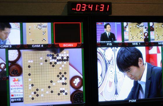 图文:BC卡杯决赛第三局 电视直播龙争虎斗
