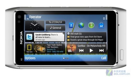1200W+HDMI+Symbian3 恐怖诺基亚N8发布