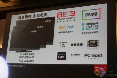 独家报道:索尼2010年新品液晶全解密