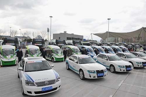 聚心世博 创新未来 上汽整体亮相北京车展图片