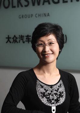 大众中国公关传播的副总裁杨美虹