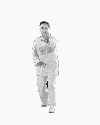 组图:孙式太极拳桩功图解