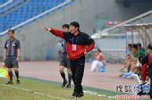 图文:[中超]重庆0-1杭州 指挥若定