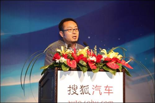 搜狐汽车事业部总经理 搜狐网副总编 何毅