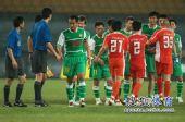 图文:[中超]北京1-1青岛 国安写满遗憾