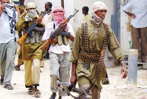 索马里反政府武装 资料图