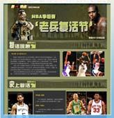 NBA季后赛之老兵复活节