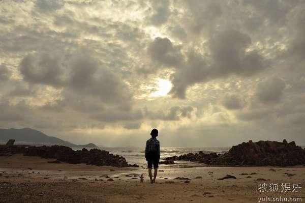 图:李连杰文戏《海洋天堂》剧照 148