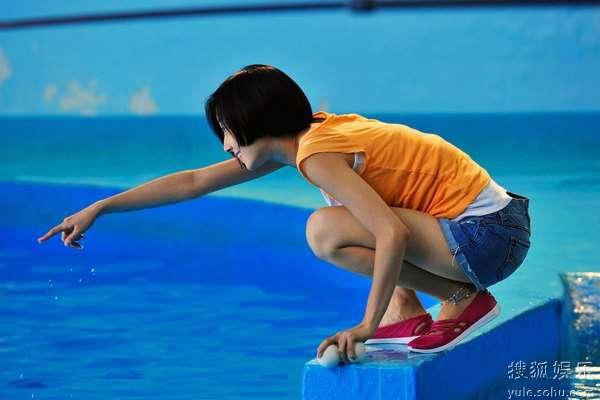 图:李连杰文戏《海洋天堂》剧照 78