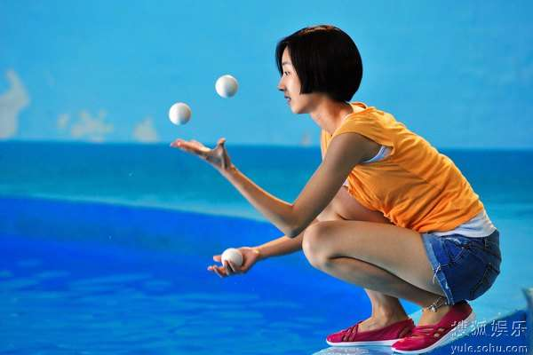图:李连杰文戏《海洋天堂》剧照 79