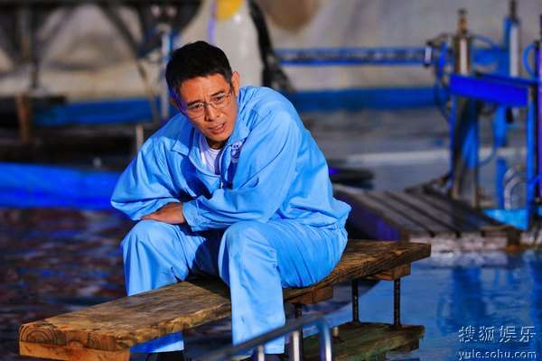 图:李连杰文戏《海洋天堂》剧照 99