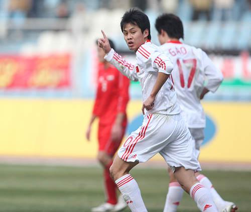 刘健曾是国足后腰的主力人选(资料图)